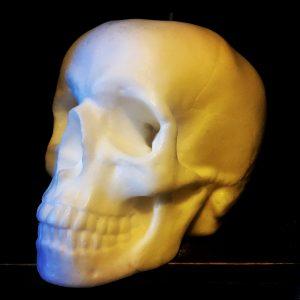 Gauci Skull Candle
